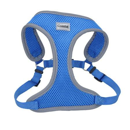 Coastal Pet Comfort Soft Reflective Wrap Adjustable Dog Harness Blue