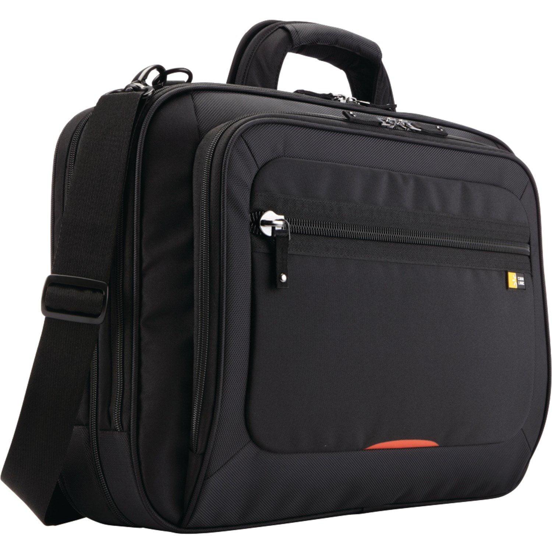 Laptop Bag, 17-in Security Friendly Messenger Carrying Black Laptop Bag Travel