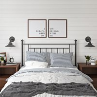 Mainstays Tempo Full/Queen Metal Headboard, Multiple Colors