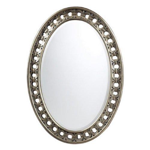 Sumner Antique Silver Wall Mirror - 24W x 34H in.