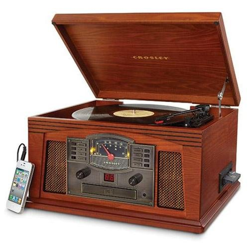 Crosley Radio Cr42c-pa Lancaster Musician Entertainment Center [paprika]