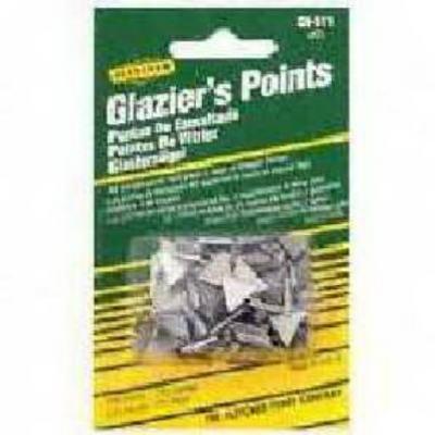 2PK-No. 7 Triangle Glazier Points Zinc Coated Triangle Glazier Point