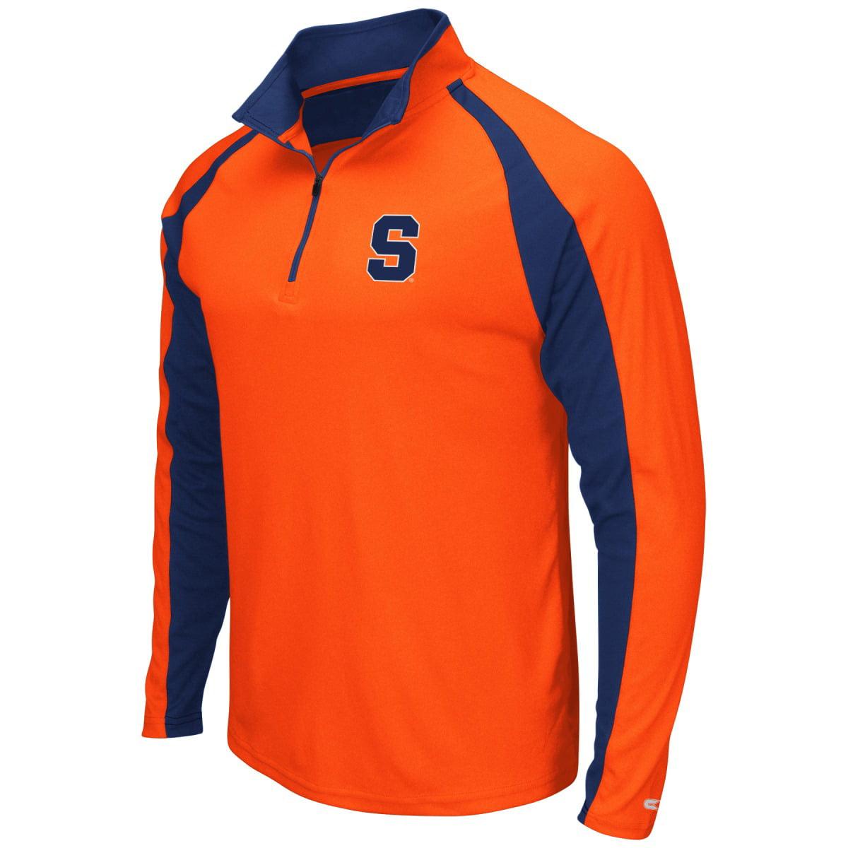 "Syracuse Orange NCAA ""Peterman"" 1/4 Zip Pullover Men's Wind Shirt"
