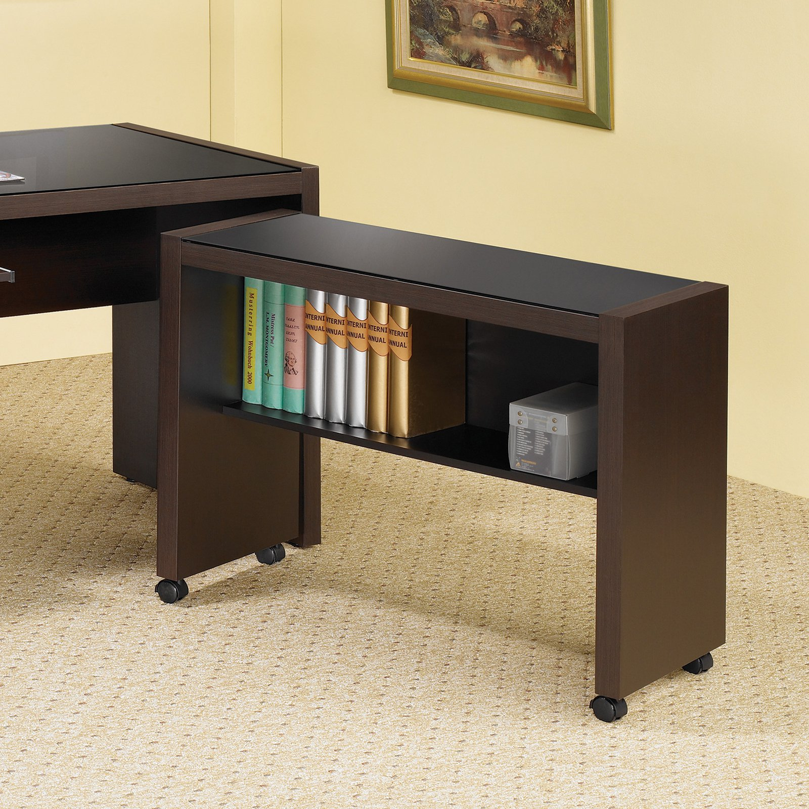 Coaster Furniture Skylar Mobile Return Bookcase
