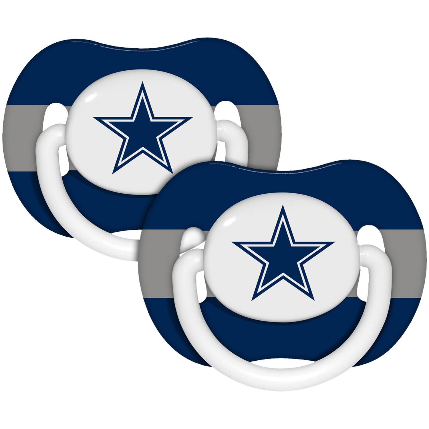 NFL Baby Pacifiers, 2pk, Dallas Cowboys