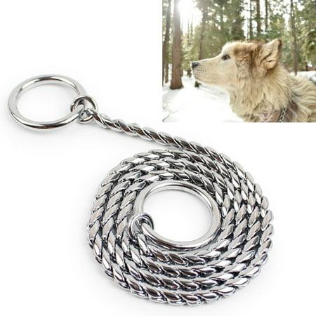 - 55cm Pet P Chain Pet Collars Pet Neck Strap Dog Neckband Snake Chain Dog Chain Dog Collar