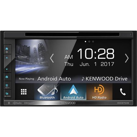 Kenwood Ddx6704s Double Din Android Auto Apple Carplay In Dash Dvd