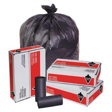 TOUGH GUY Trash Bags,40 to 45 gal.,19 micron,PK150 49P433