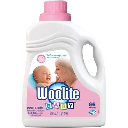 Woolite Baby Hypoallergenic Laundry Detergent, 100 oz, 66