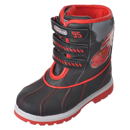 "Disney - Disney Cars Boys' ""Red Hot"" Winter Boots (Toddler"