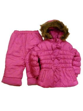 f8939538068eb Product Image Rothchild Infant Girl Pink Outerwear Set Snow Pants Ski Jacket  Coat Snowsuit
