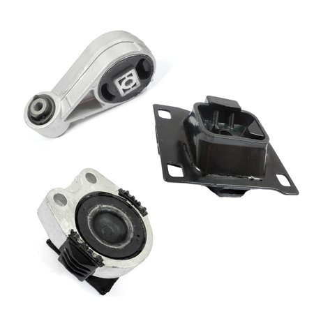 Ford Focus Engine Mount (2005-2007 Ford Focus 2.0L Engine Motor & Trans. Mount Set 3PCS for Auto Transmission A5312, A2939, A2986)