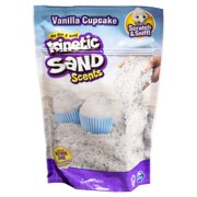 Kinetic Sand Scents, 8oz Vanilla Cupcake White Scented Kinetic Sand, for Kids Aged 3 and Up