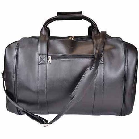 Royce Leather Sport Duffel Travel Bag in Genuine Leather