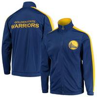 Golden State Warriors Starter Challenger Full-Zip Track Jacket - Royal