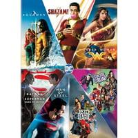 DC 7 Film Collection: Shazam/Aquaman/Wonder Woman/Suicide Squad/Batman v Superman/Man of Steel/Justice League (DVD)