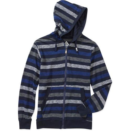 Men's Jersey Blend Light Weight Stripe Hoodie
