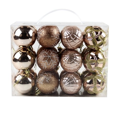 60mm Christmas Xmas Tree Ball Bauble Hanging Home Party Ornament Decor ()