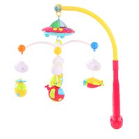 Baby Bed Bell Musical Mobile Crib Dreamful Bed Ring Hanging Rotate Bell Rattle Parent Intelligence Educational Toy