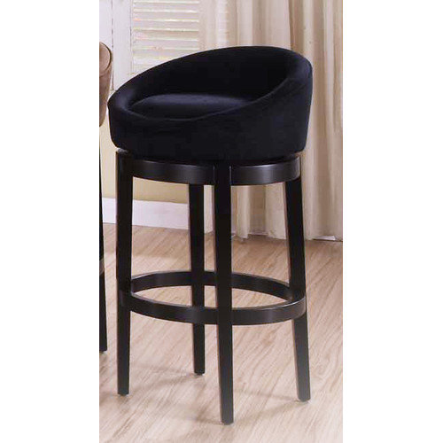 Armen Living Igloo 26'' Swivel Bar Stool with Cushion