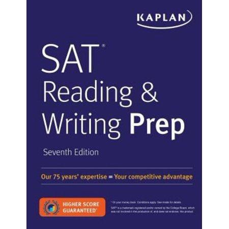 Kaplan Sat Reading   Writing Prep
