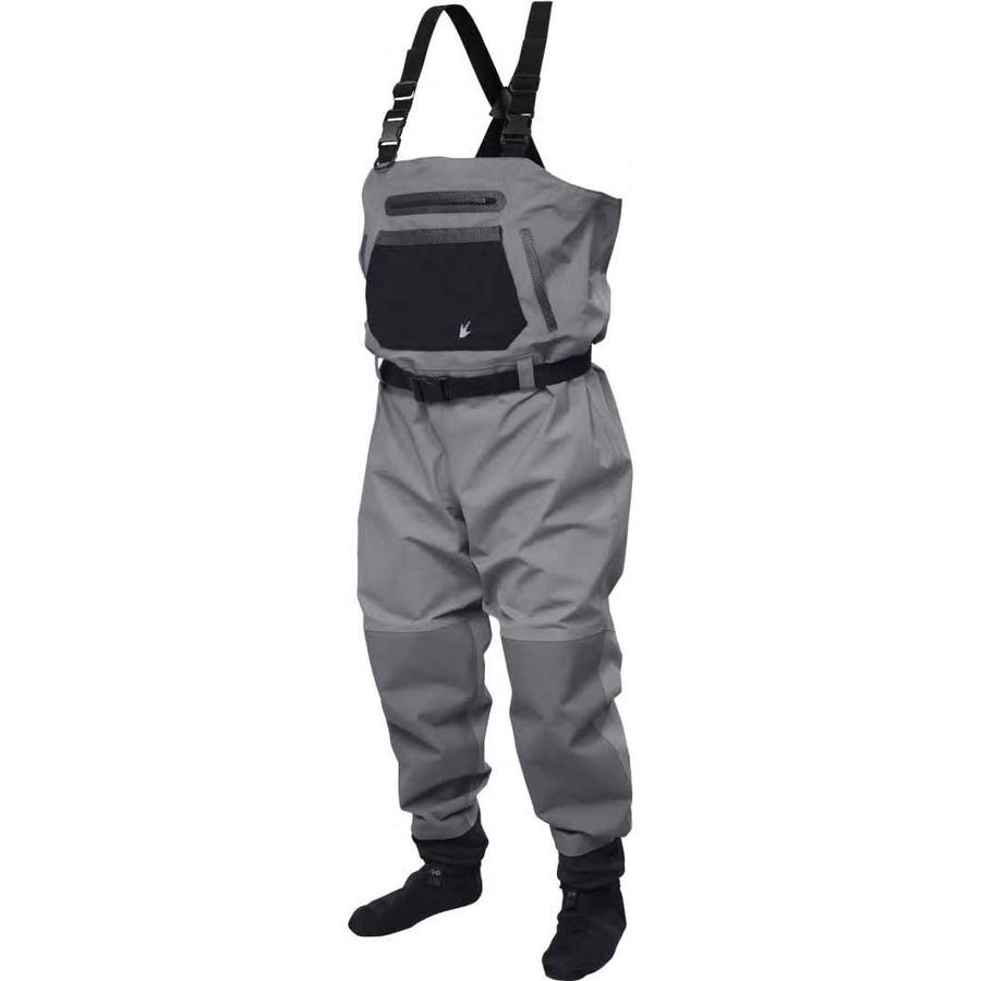 Frogg Toggs Sierran Reinforced Nylon Breathable Stockingfoot Wader by Frogg Toggs