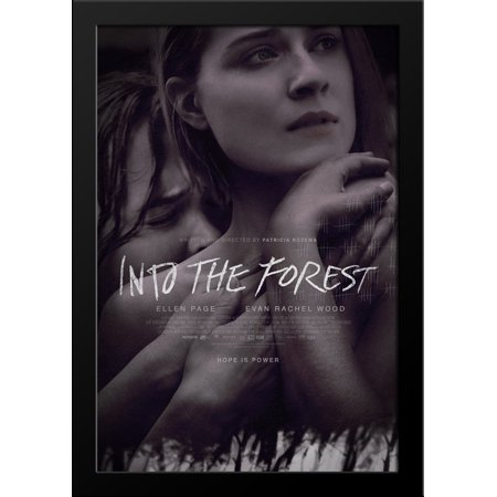 Into the Forest 28x36 Large Black Wood Framed Movie Poster Art Print