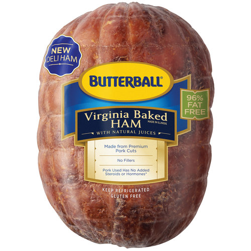 Butterball Virginia Ham, Deli Sliced 1lb.