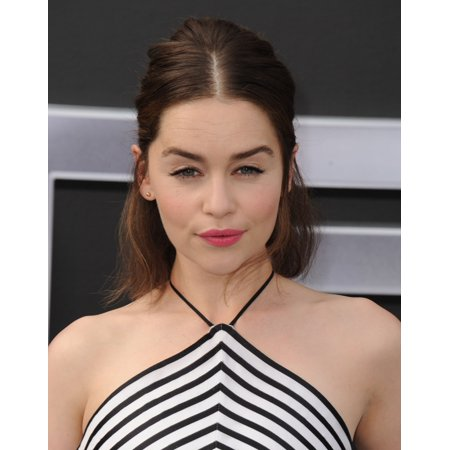 Emilia Clarke At Arrivals For Terminator Genisys Premiere Canvas Art     16 X 20