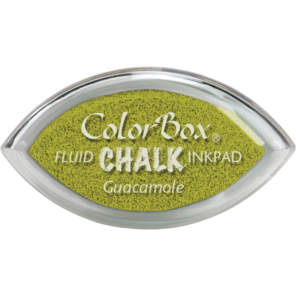 ColorBox Chalk Cats Eye Ink Pads, Guacamole Multi-Colored