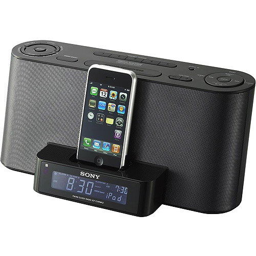 Sony Ipod Iphone Clock Radio Dock