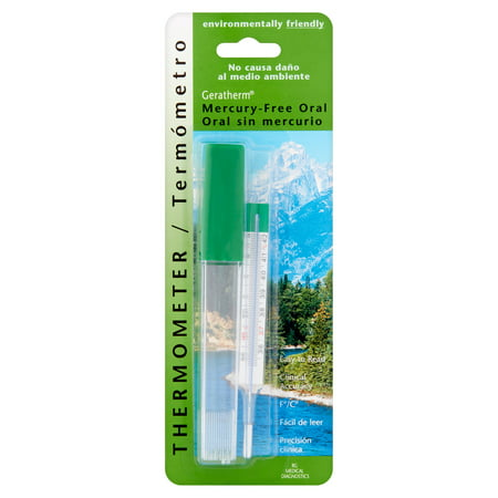 Image of Geratherm Mercury-Free Oral Thermometer