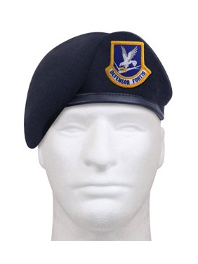 e5d4d5df7a8 Product Image Rothco Inspection Ready Beret With USAF Flash - Midnight Navy  Blue
