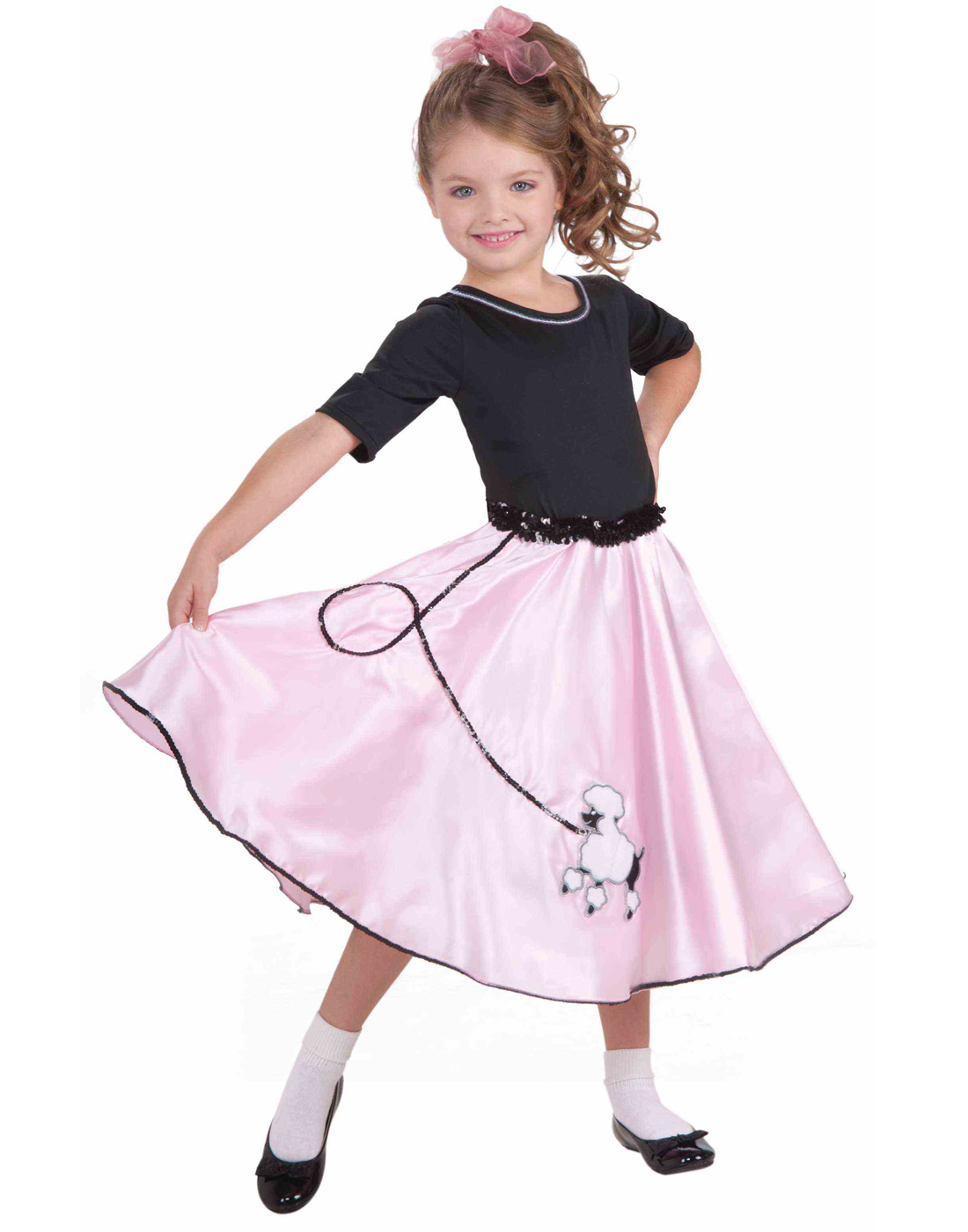 Adult Poodle Skirt Womens Halloween Costume