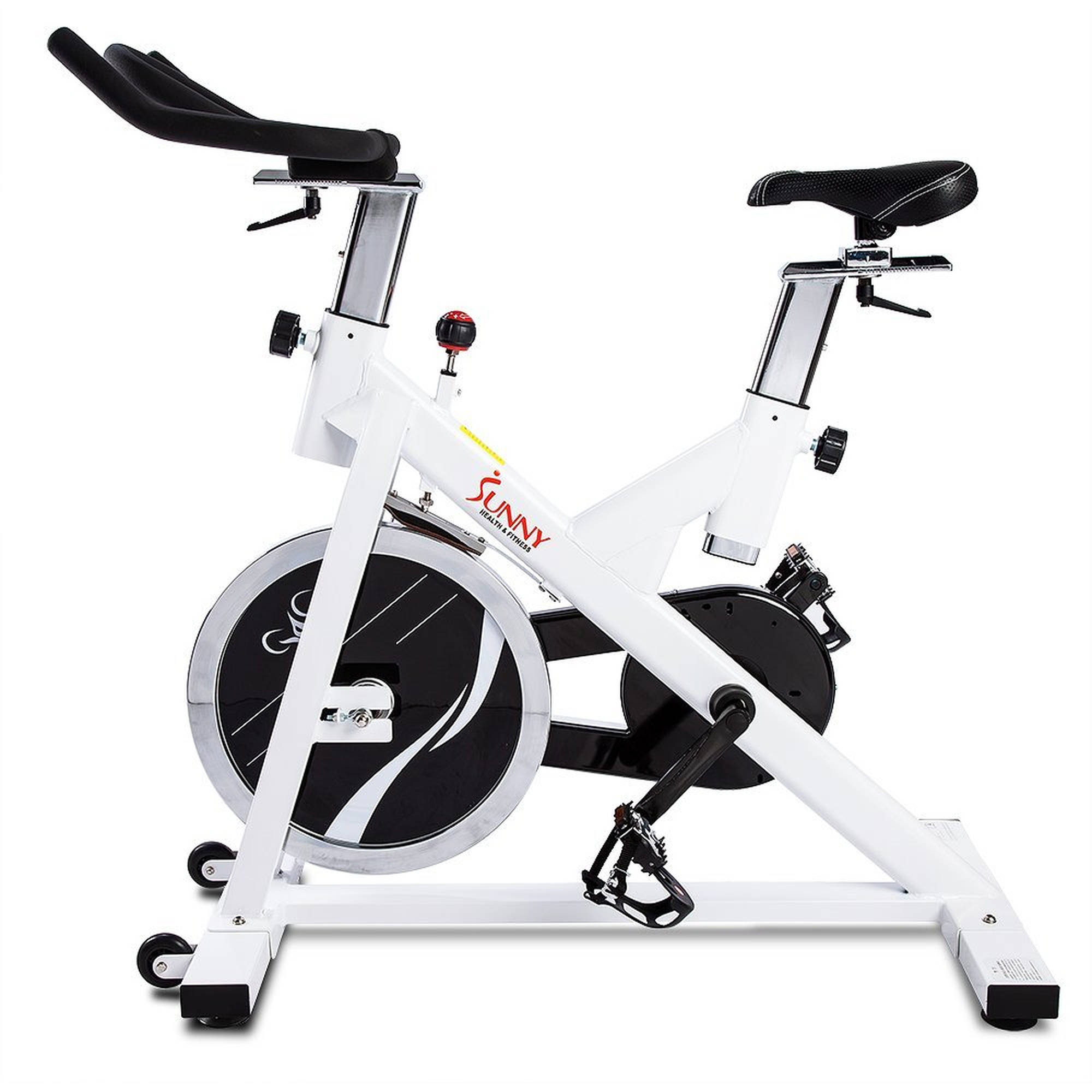 dd92d5464be Sunny Health & Fitness SF-B1110 Indoor Cycling Exercise Bike with 44 lb.  Flywheel - Walmart.com