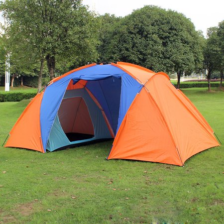 new product 578ec 0945b 6-8 Person 2 Rooms Family Outdoor Camping Shelter Dome ...