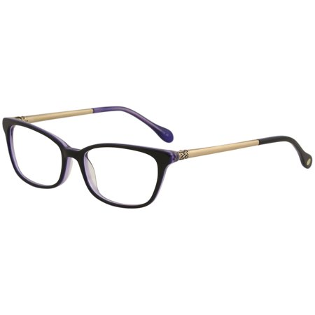 Clearance Lilly Pulitzer (Lilly Pulitzer FINSBURY Eyeglasses BK Black)