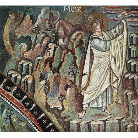 Framed Art for Your Wall Meister von San Vitale in Ravenna - Chor Mosaics in San Vitale in Ravenna, scene [13] 10 x 13 Frame