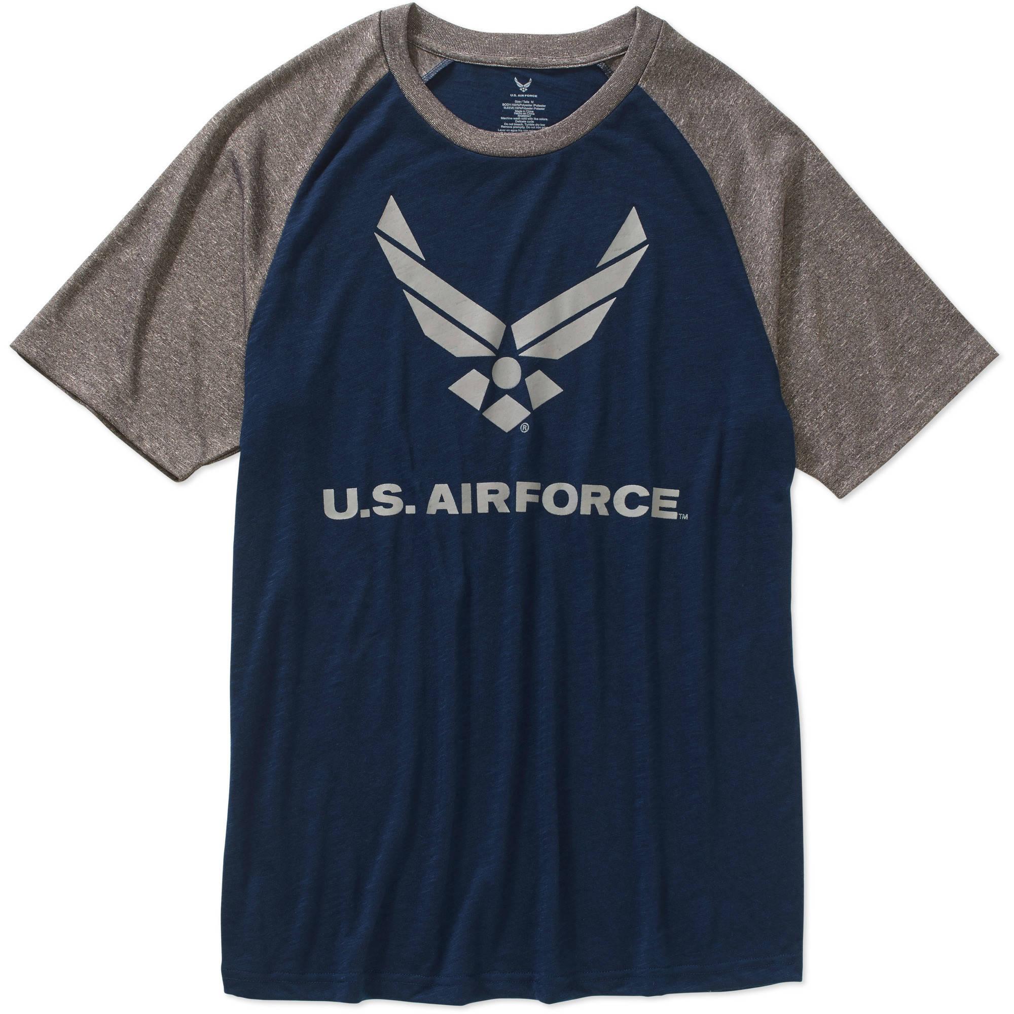 US Airforce Slub fashion tee Shirt