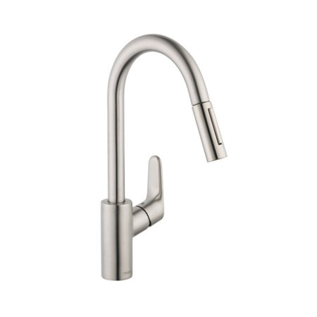 Hansgrohe Metris E Single Hole Faucet (Hansgrohe 1901 3 Hole)