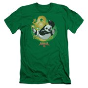 Kung Fu Panda Drago Po Mens Slim Fit Shirt