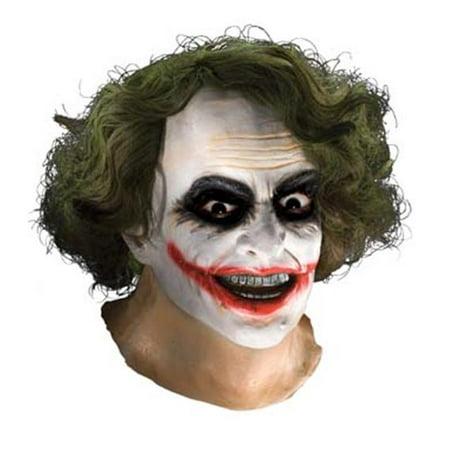 Joker Latex Mask W Hair for $<!---->