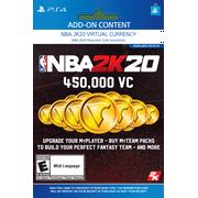 NBA 2K20 450,000 VC, 2K Games, Playstation [Digital Download]