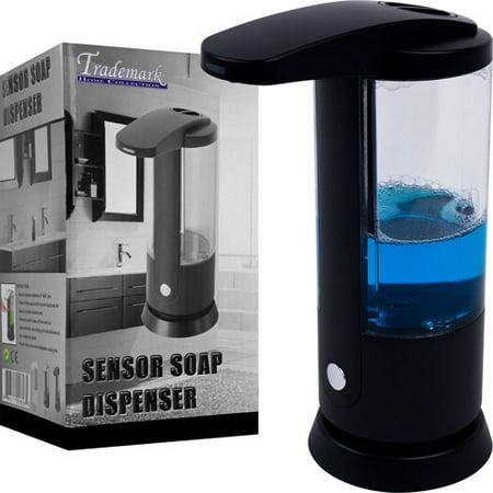 Touchless Automatic Liquid Soap Dispenser by Trademark Home Delta Chrome Victorian Soap Dispenser