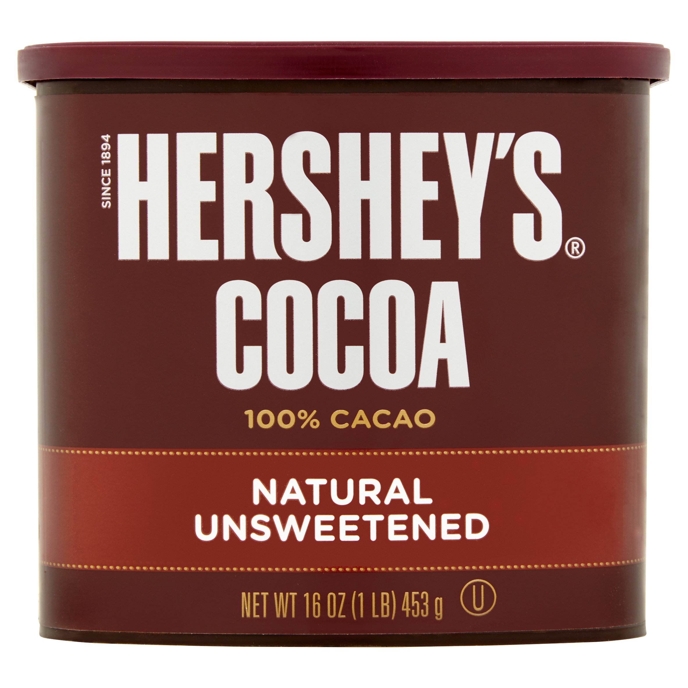 (6 Pack) Hershey's Natural Unsweetened Cocoa, 16 Oz - $0.36/oz