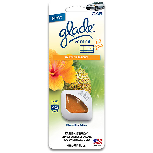 Glade Gel Hawaiian Breeze Air Fresheners, Orange