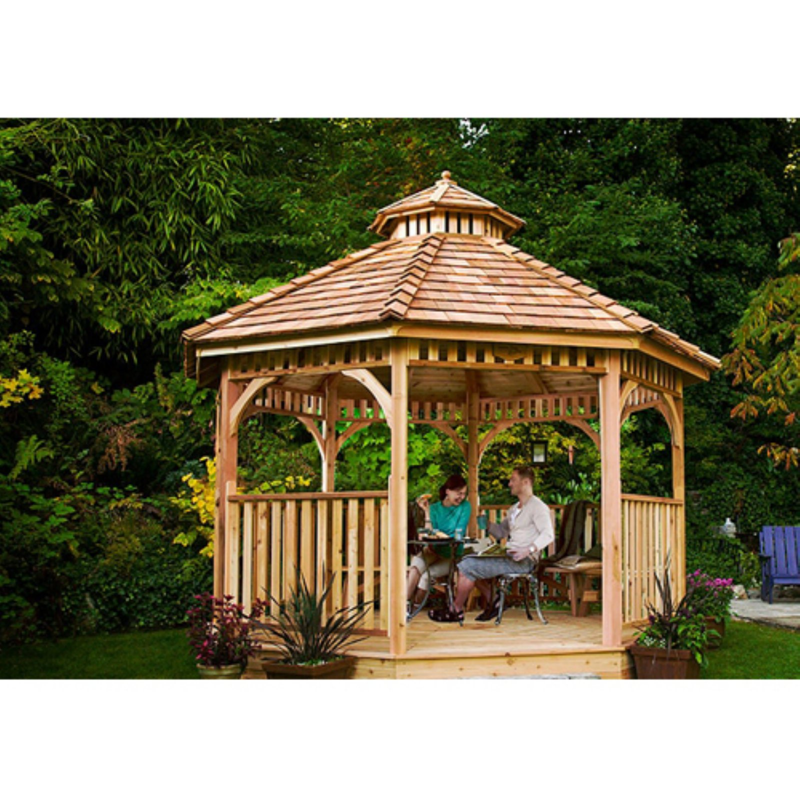 Outdoor Living Today Bayside 12 ft. Octagon Gazebo