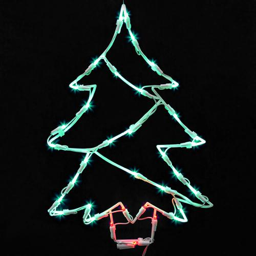 Green Led Christmas Lights Walmart