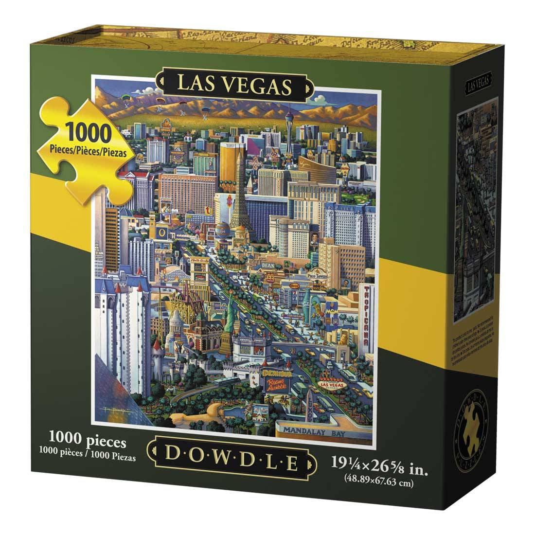 Dowdle Jigsaw Puzzle Las Vegas 1000 Piece by Dowdle Folk Art