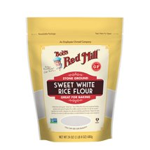 Flours & Meals: Bob's Red Mill Sweet White Rice Flour